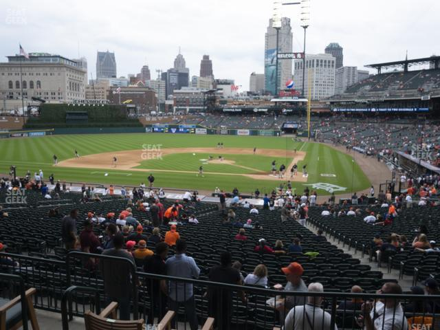Comerica Park Section 131 view