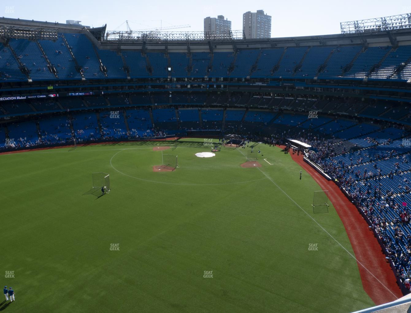 Toronto Blue Jays at Rogers Centre Section 542 R View