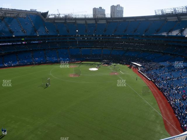 Rogers Centre Section 542 R view