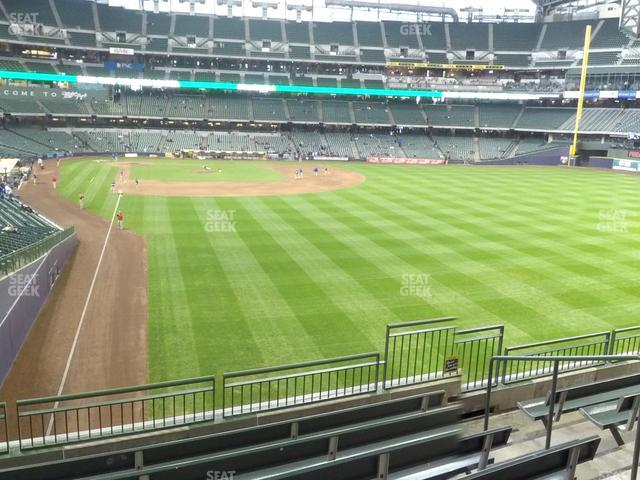 Miller Park Section 205 view