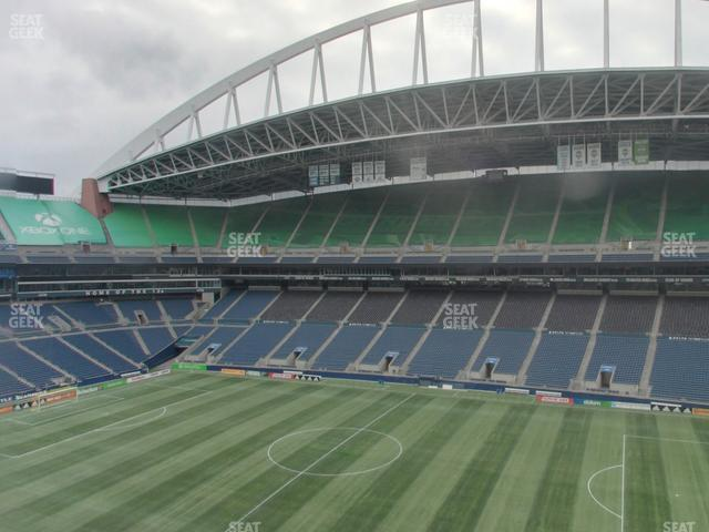 CenturyLink Field Lower 306 view
