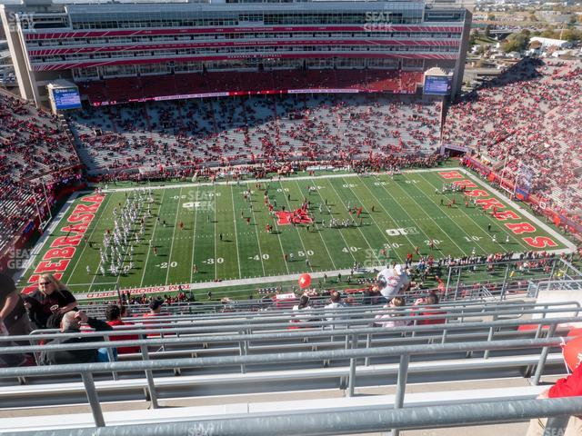 Memorial Stadium Nebraska Section 608 view