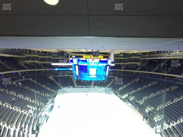 Madison Square Garden Section 416 view