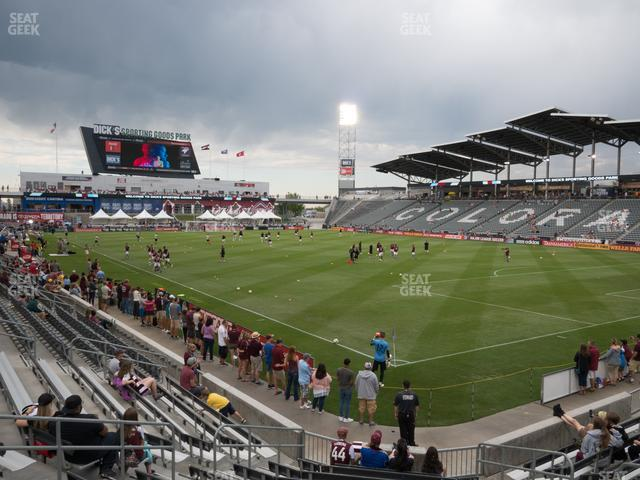 Dick's Sporting Goods Park Section 122 view