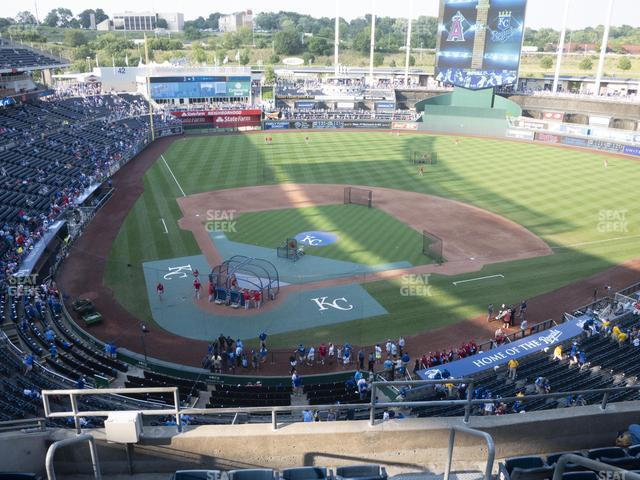 Kauffman Stadium Section 424 view