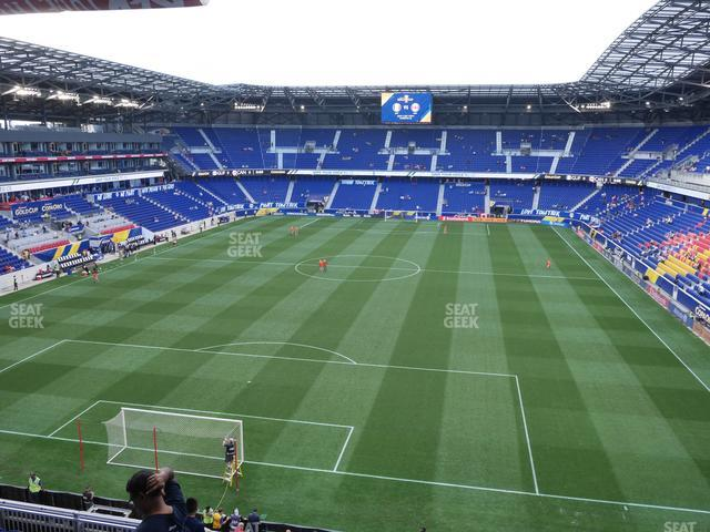Red Bull Arena Section 233 view