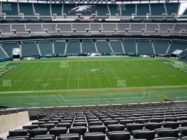 Lincoln Financial Field Section C 40 view