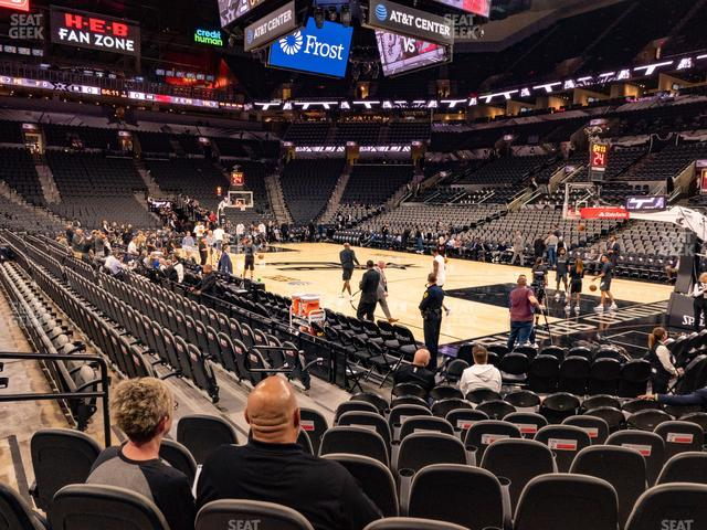 AT&T Center Charter 4 view