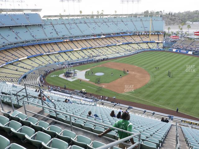 Dodger Stadium Reserve 30 view