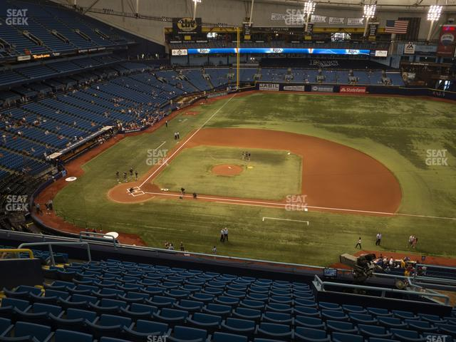 Tropicana Field Section 312 view
