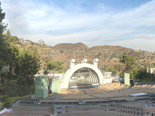 Hollywood Bowl Section U 3 view