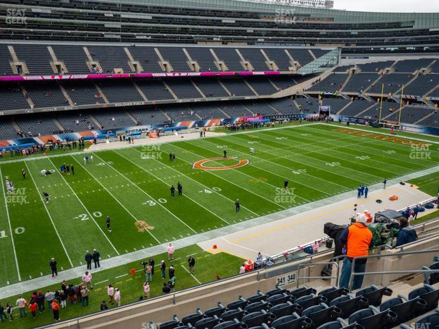 Soldier Field Section 341 view