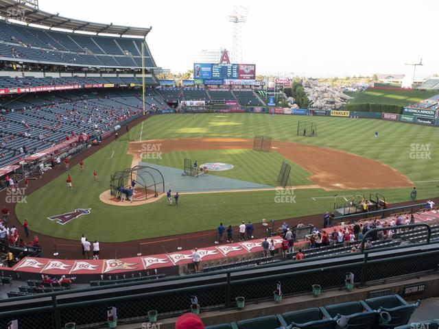Angel Stadium of Anaheim Section 331 view