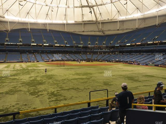 Tropicana Field Section 149 view