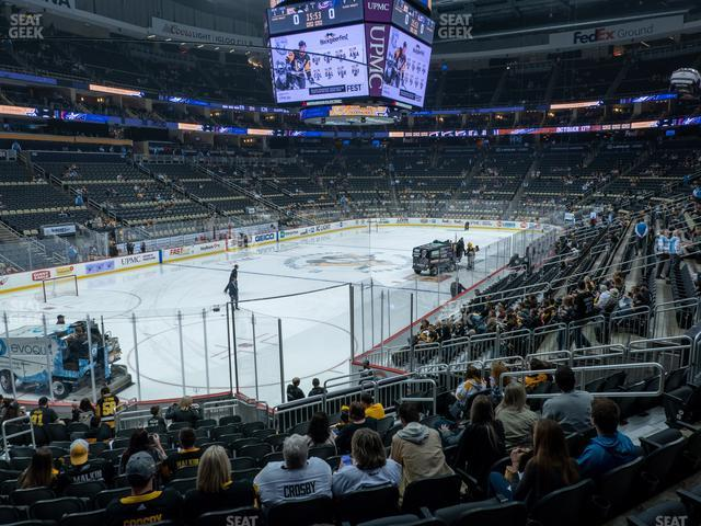 detailed seating chart ppg paints arena - Bamil