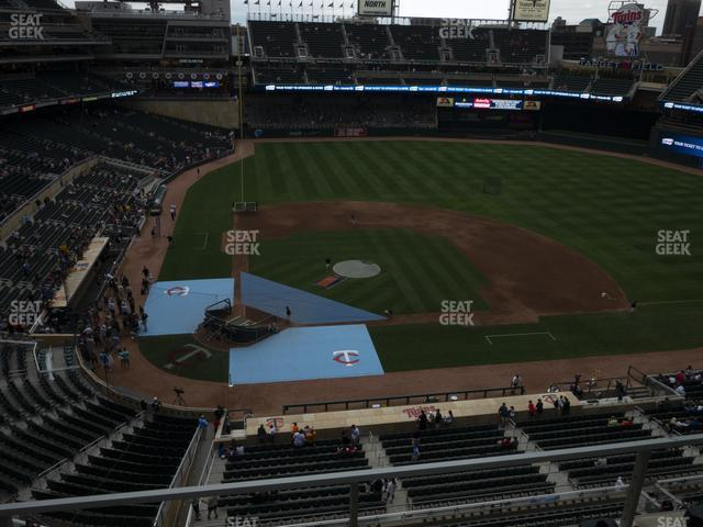 Target Field Section 211 view