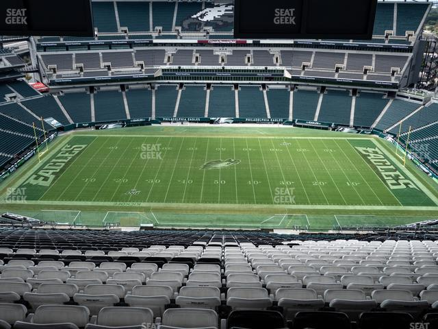 Lincoln Financial Field Section 225 view