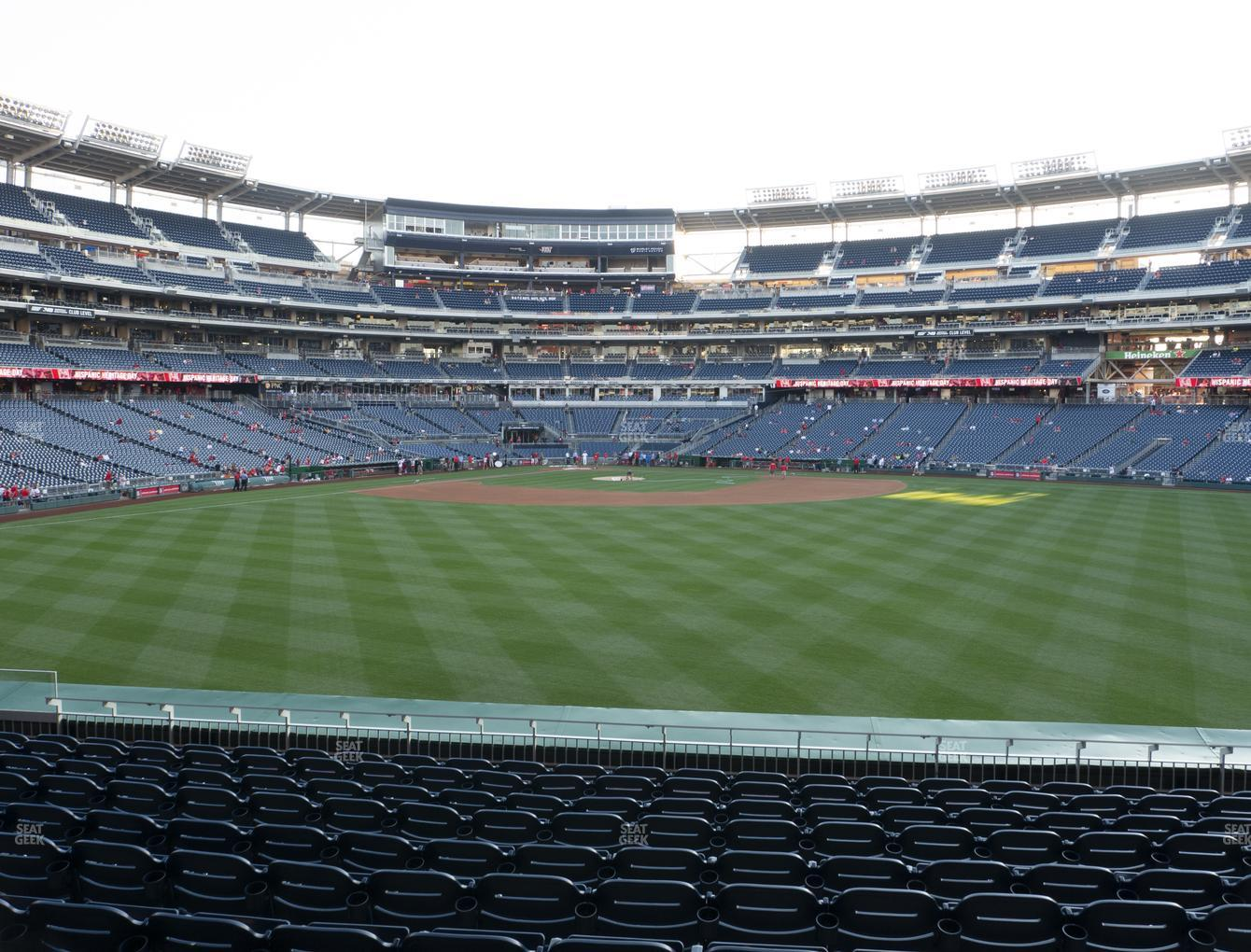 Nationals Park Section 142 Seat Views Seatgeek