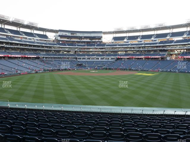 Nationals Park Section 142 view