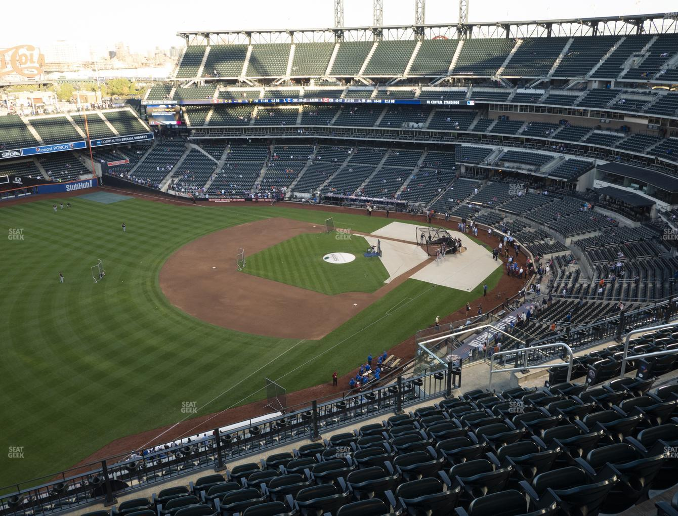 New York Mets at Citi Field Section 526 View