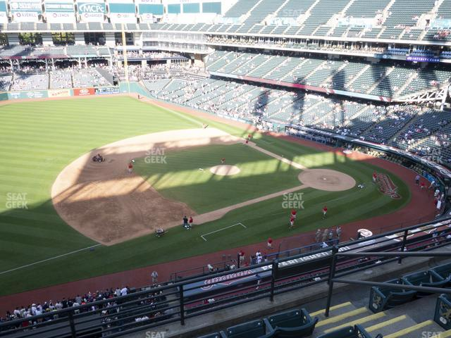 Progressive Field Section 467 view