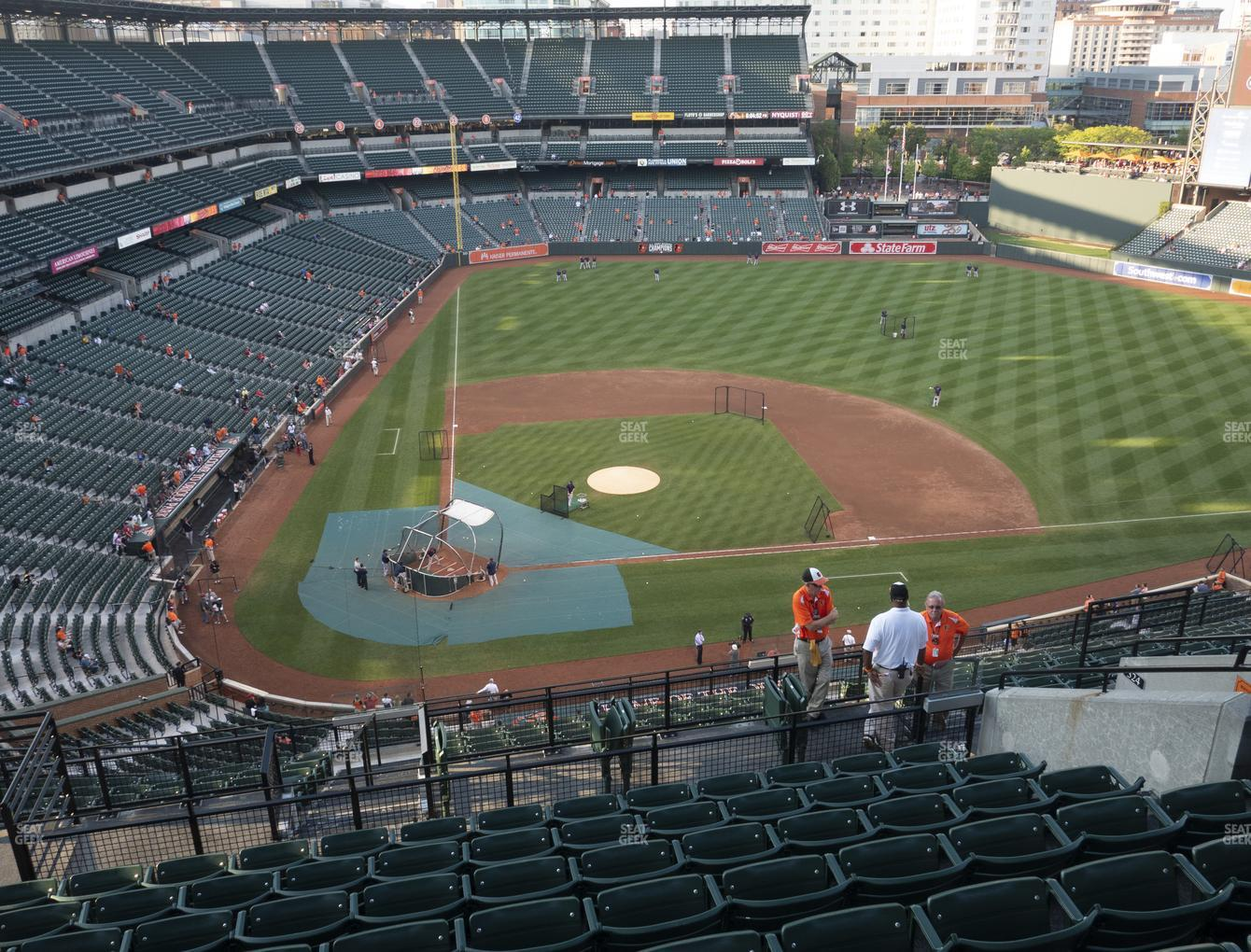Baltimore Orioles at Oriole Park at Camden Yards Section 326 View