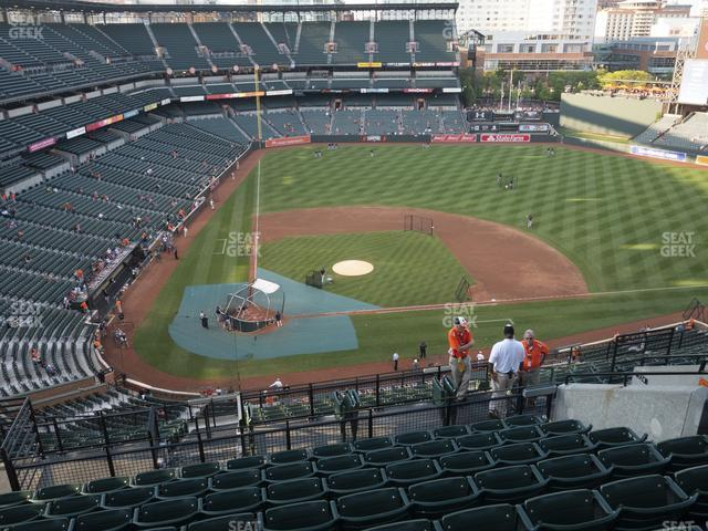 Oriole Park at Camden Yards Section 326 view