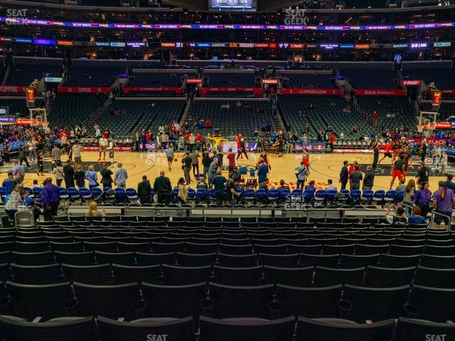 Staples Center Section 111 view