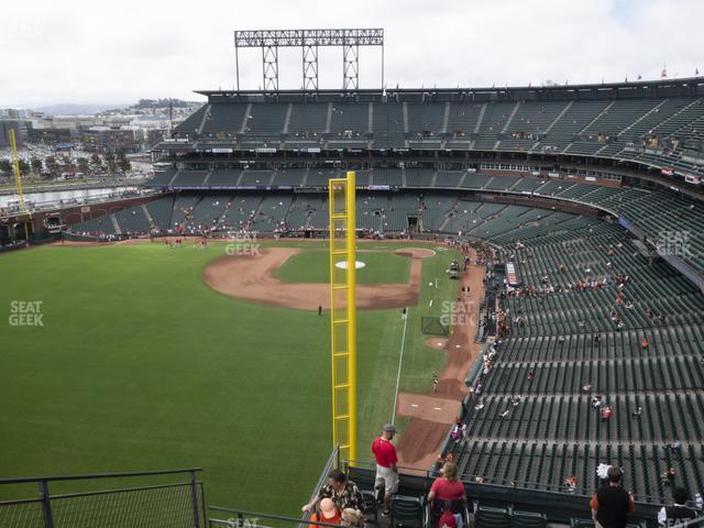 Oracle Park Section 336 view