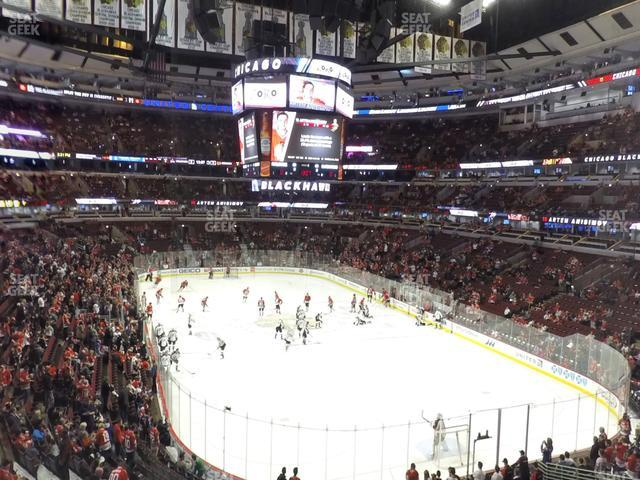 United Center Section 228 view