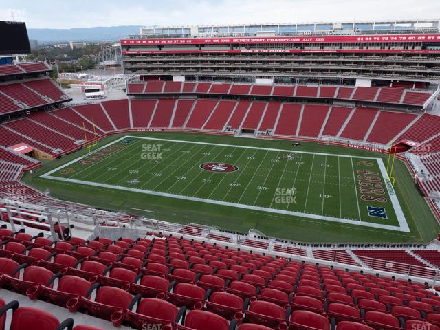Levi's Stadium Section 409 view