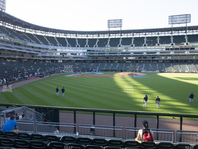 Guaranteed Rate Field Section 105 view