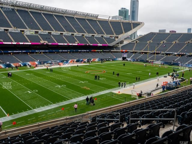Soldier Field Section 214 view