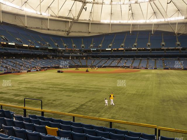 Tropicana Field Section 148 view