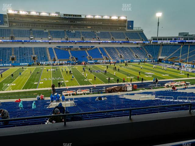 Kroger Field Section 104 view