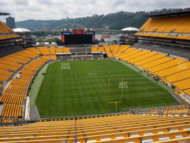 Heinz Field Section 521 view