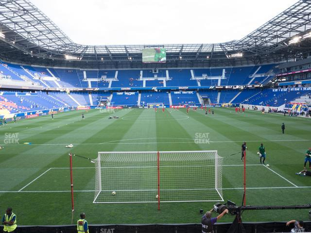 Red Bull Arena Section 118 view