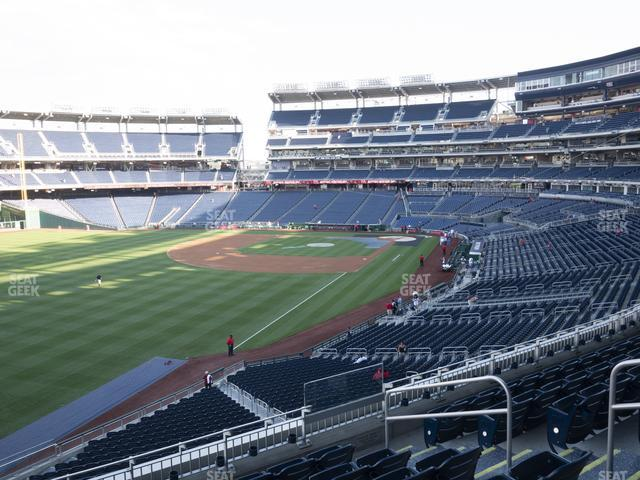 Nationals Park Section 201 view