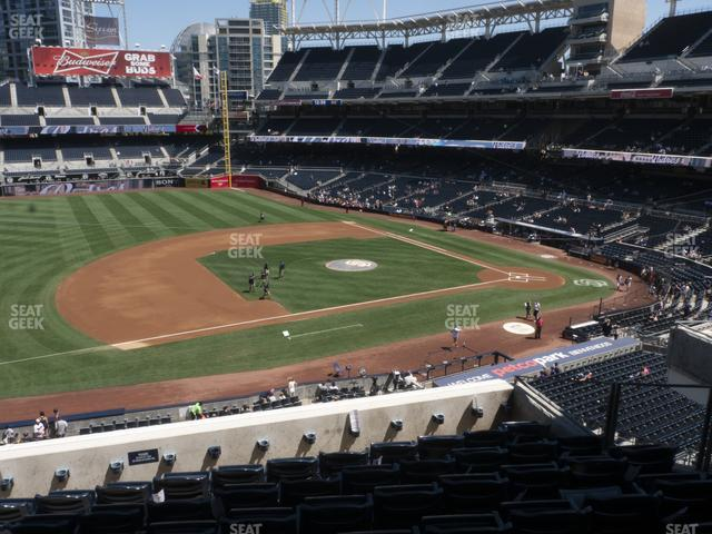Petco Park Section 212 view