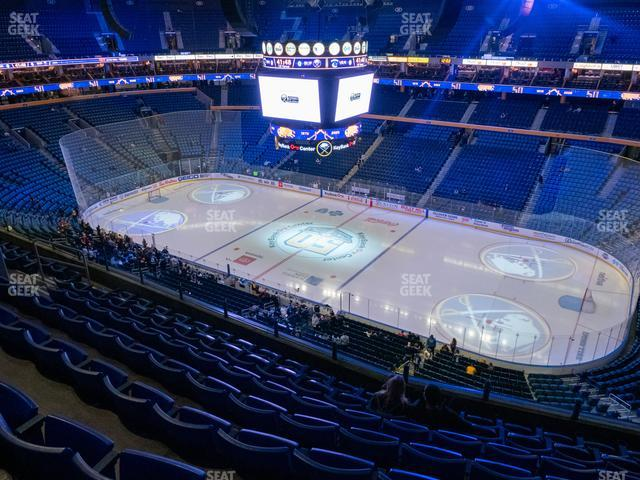 KeyBank Center Section 304 view