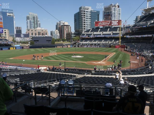 Petco Park Premier Club C view