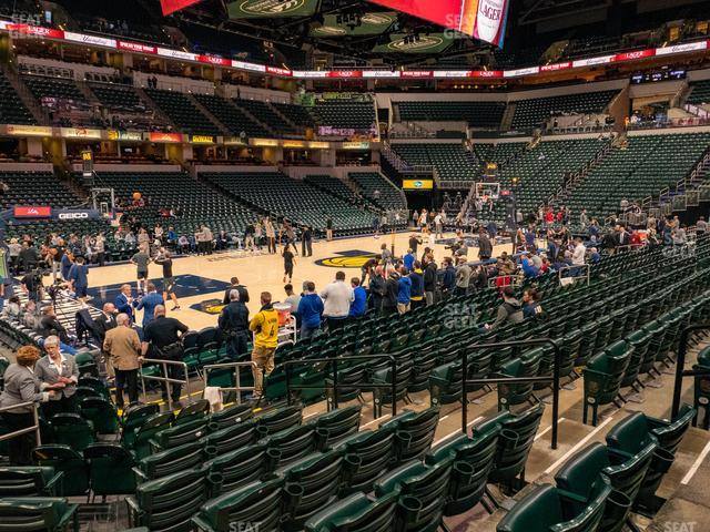 Bankers Life Fieldhouse Section 7 view