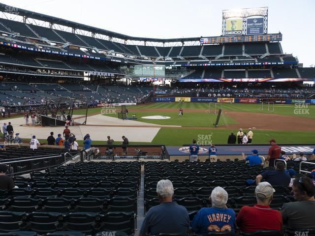 Citi Field Section 113 view