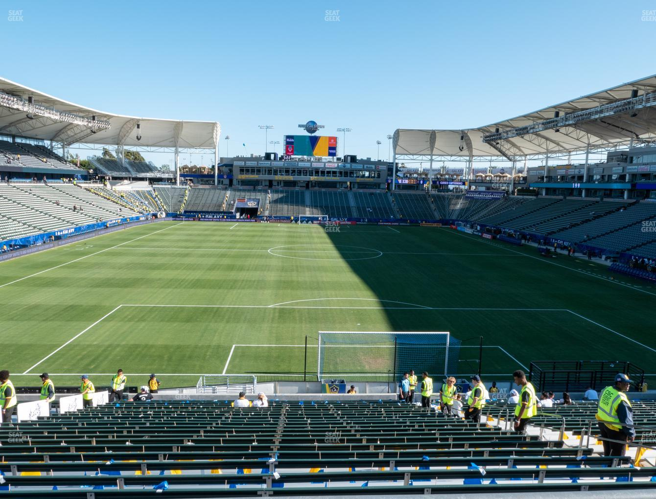 Dignity Health Sports Park Section 122 Seat Views | SeatGeek
