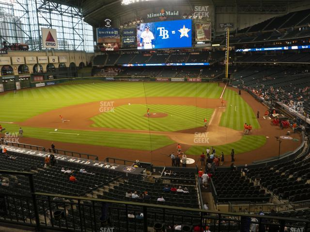 Minute Maid Park Section 216 view