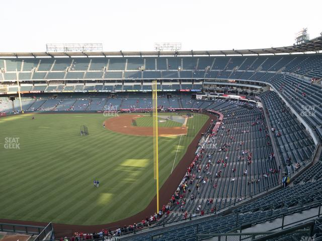 Angel Stadium of Anaheim Section 502 view