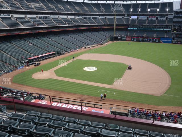 Globe Life Park Section 234 view