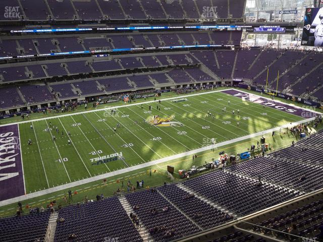 U.S. Bank Stadium Section 315 view