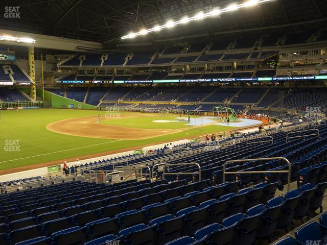 Marlins Park Section 24 view
