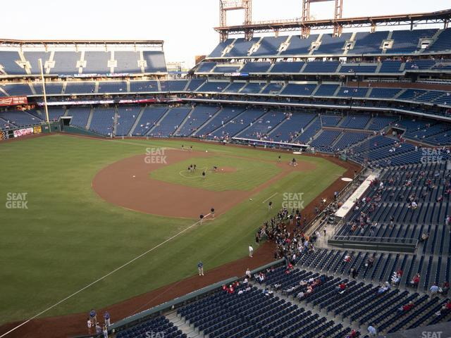 Citizens Bank Park Section 331 view